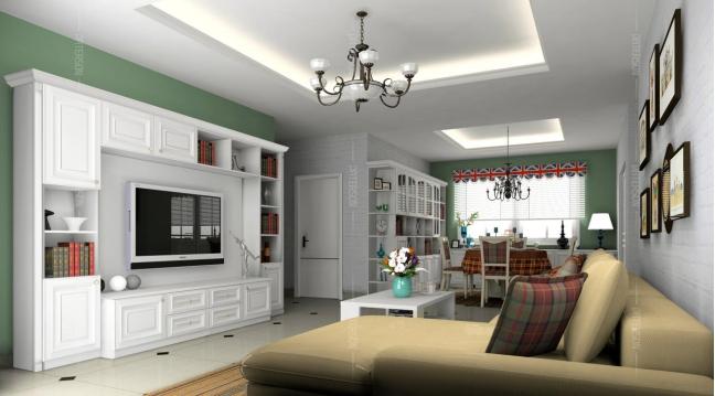 与其羡慕别人家的客厅美美哒? 总觉得自己家客厅太low? 其实客厅逼格高不高, 关键就在电视柜如何选! 百得胜全屋收纳定制, 好看、好用、环保。 对客厅电视柜定制的也是蛮有考究, 再小的空间都能给你变出新花样。 下面,小编就给你支几招, 让你也可以打造出: 被人羡慕的别人家的客厅!