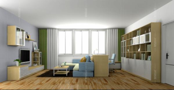 房价高企,有一间蜗居的小房子已经是件幸福的事了。小小的房子阻挡不了我们追求知识的脚步,作为一个现代人,不随时读书充电怎么行?所以,小户型中的书房变得格外引人注目。下面就跟平安君一起来看看百得胜设计师是如何合理利用空间,打造独一无二的完美书房?   攻略一:客厅太小,吧台书房巧结合 设计师利用一个到横梁的墙体空间,设计休闲吧台隔断客厅和书柜之间的空间。