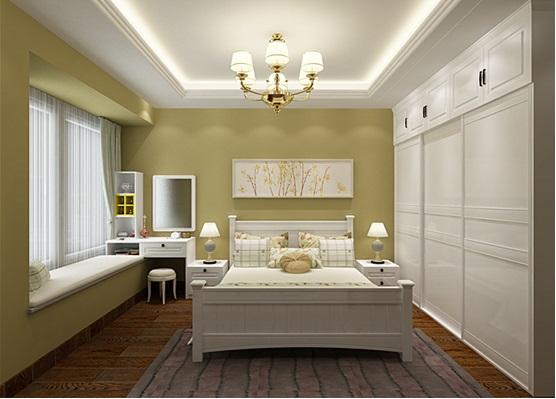 白墙装修衣柜效果图