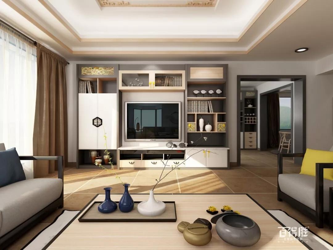 想要一个与众不同的客厅?电视柜必须撩人!图片