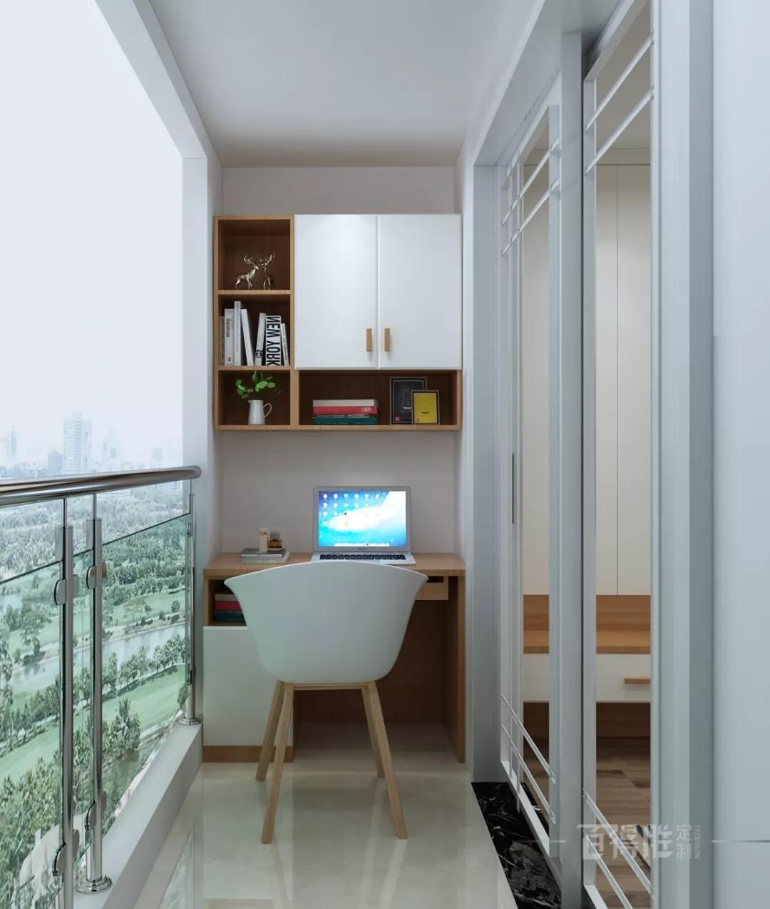 小书房装修效果图欣赏 能充分利用空间的小型书房设计