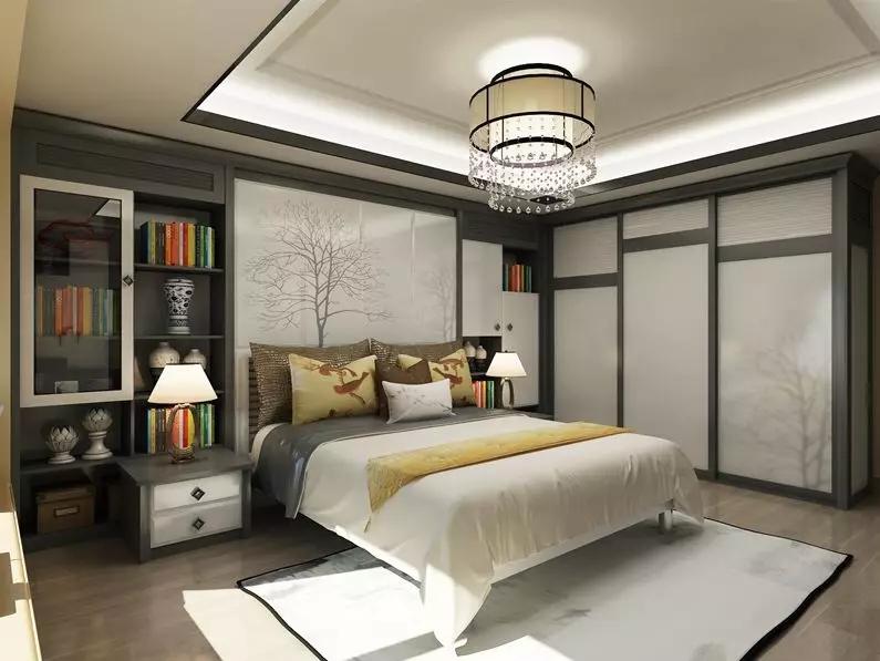 新中式印象·徽州衣柜门效果图
