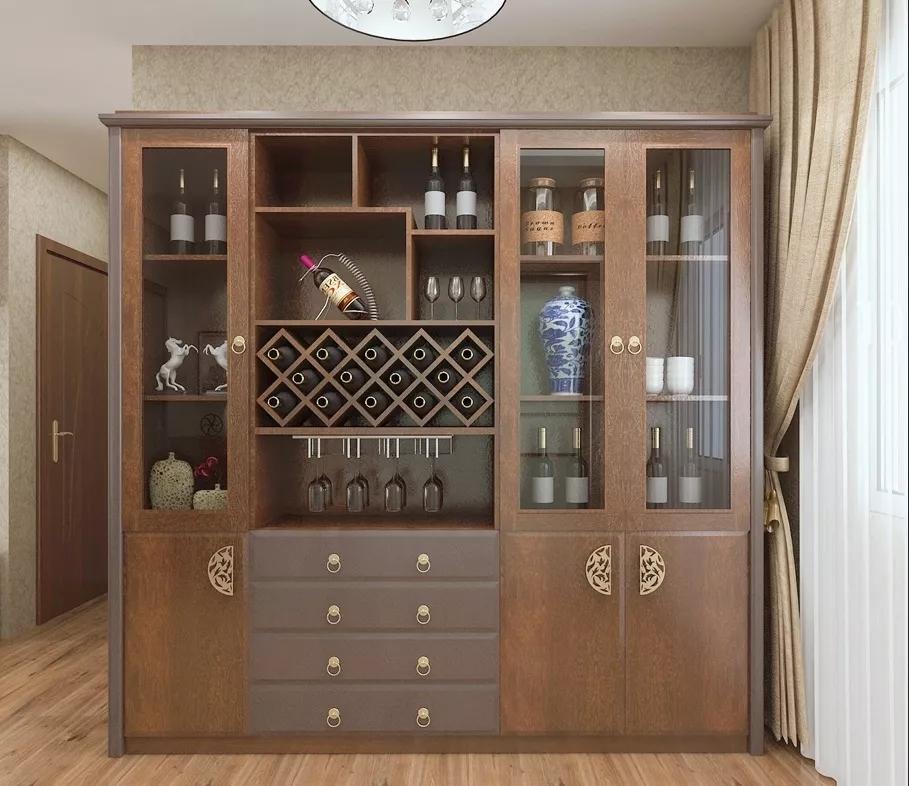 最新酒柜效果图大全 一波酒柜造型美图来袭