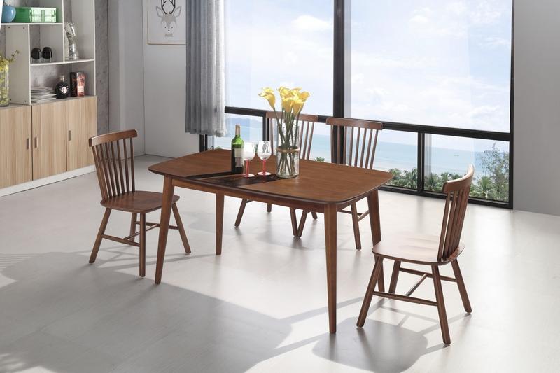 北欧极简|丨木质餐桌椅